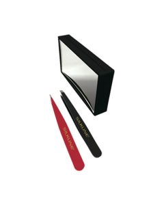 Masquerade Silkine Mirror Tweezer Set