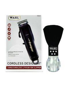 Wahl Black Lithium Cordless Designer + Neck Duster