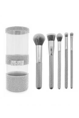 Moda Metallics 6pc Silver Kit