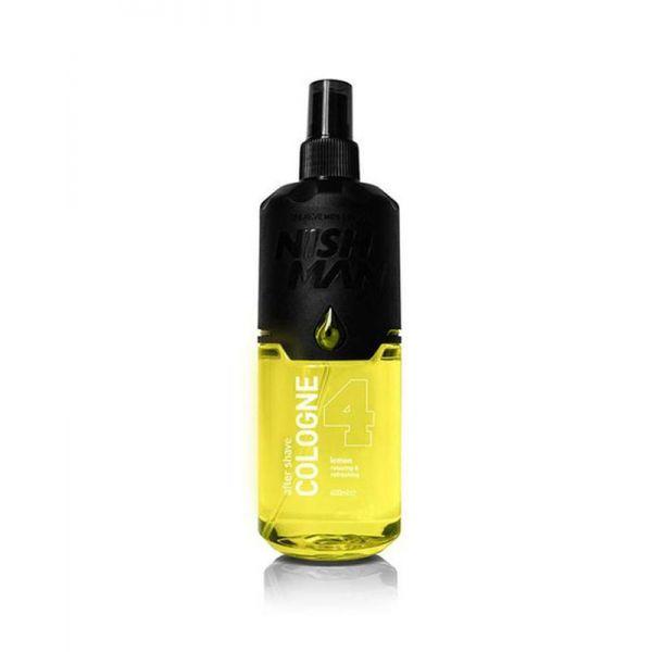 Nishman Aftershave Cologne Lemon 4 400ml